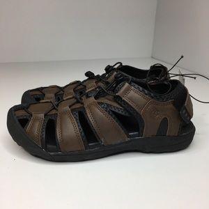 Khombu Men's Brown Travis outdoor Athletic sandal